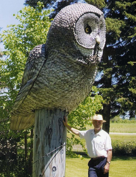 Great Grey Owl (with Jake)
