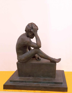 Man in Grief (right side)