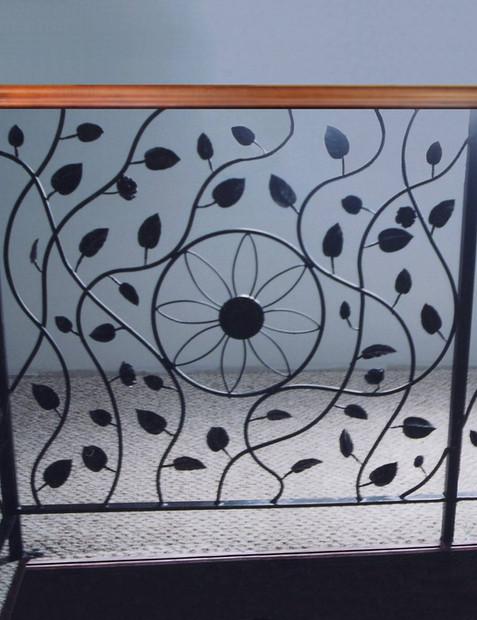 Ornamental Iron Railing 1
