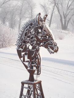 Laser Punk Horse (Winter)