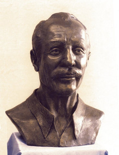 Bust of Henry Loeppky