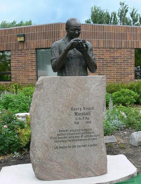Dr. Henry Marshall, Plant Scientist