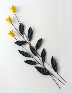 Yellow Flower Wall Piece
