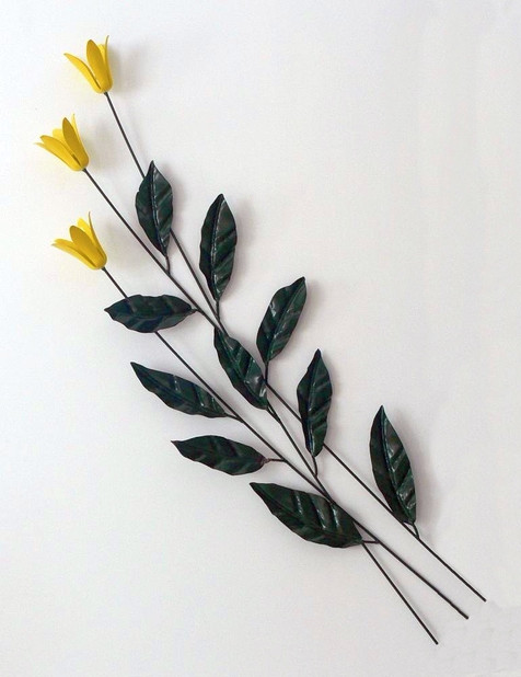 Yellow Flower Wall Piece