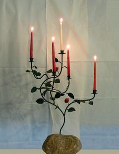 Advent Candelabra