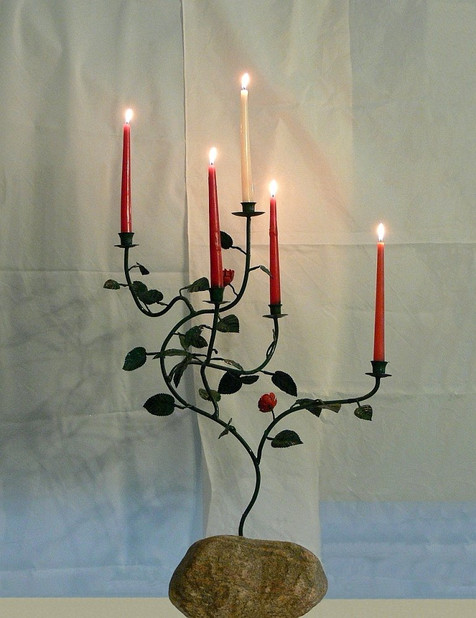 Advent Candelabra