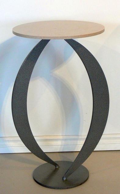 Combo Table - Steel Legs & Marble Top