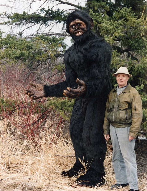 Sasquatch (with Jake on the left)