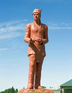 Chief Keeshkemaquah (front view)