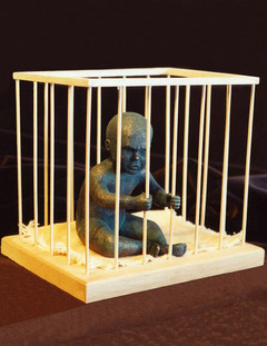 Baby in Cage
