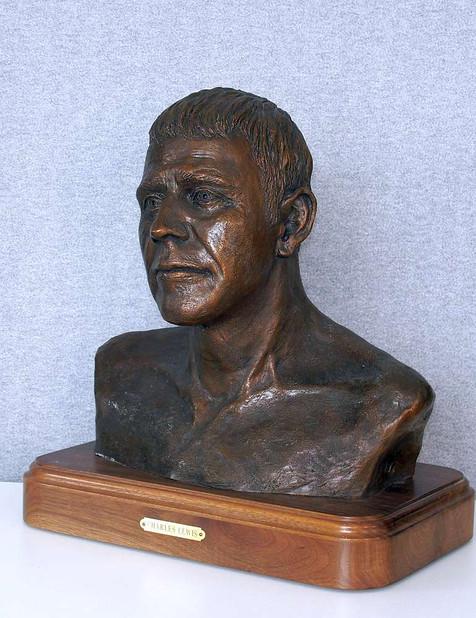 Bust of Charles Lewis (left side)