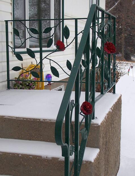 Rose Railing (entrance view)