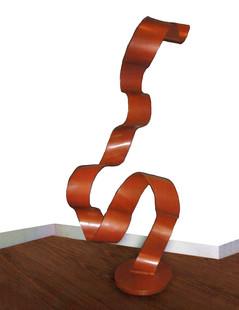 Steel Ribbon (painted, indoor)