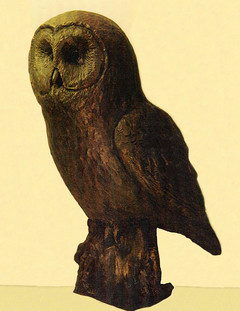Great Grey Owl (Maquette)