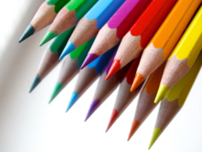 colored-pencils-colour-pencils-mirroring