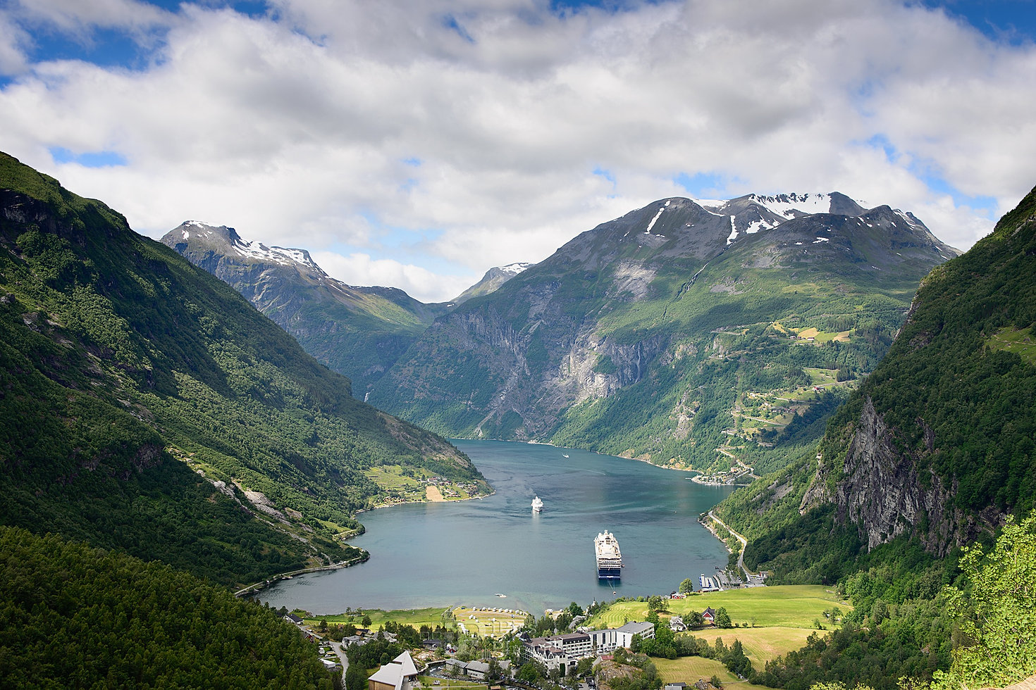 Geiranger fjord in Norway