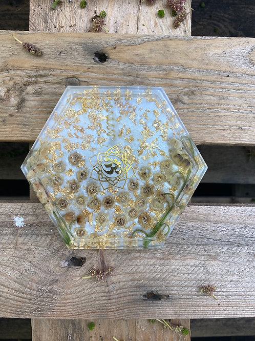 Multipurpose Tray | Lily of the Valley Hexagon