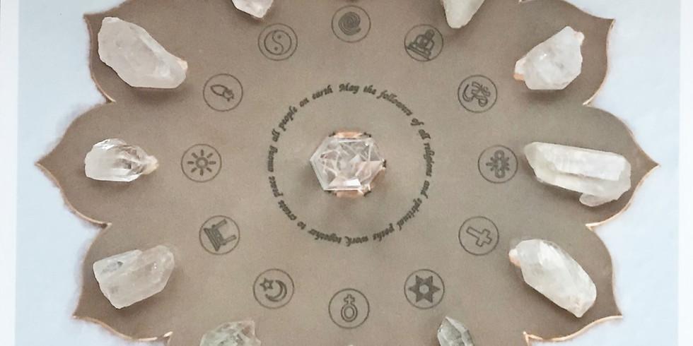 World Peace Meditation + Reiki Share