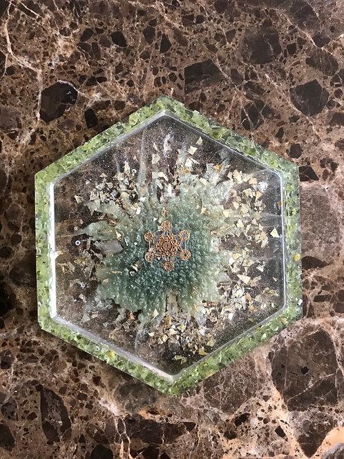 Multipurpose Tray | Peridot Hexagon