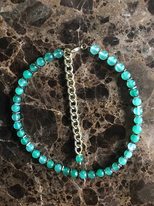 Adjustable Choker | Aventurine