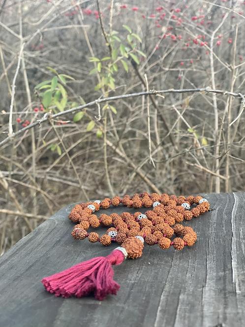 Meditation Mālā | Rudraksha Seed