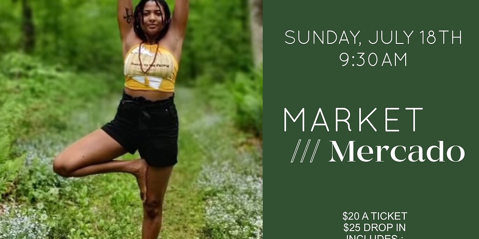 Yoga @ MARKET /// Mercado