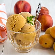 Peach Apricot Sorbet