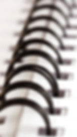 Encadernação, espiral wire-o, capa dura, apostilas, mamografia.