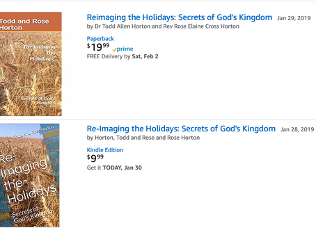 Touched by Grace releases Re-Imaging the Holidays: Secrets of God's Kingdom