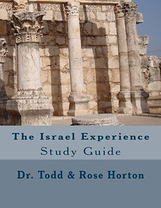 """Todd Horton"" and ""The Israel Experience"""
