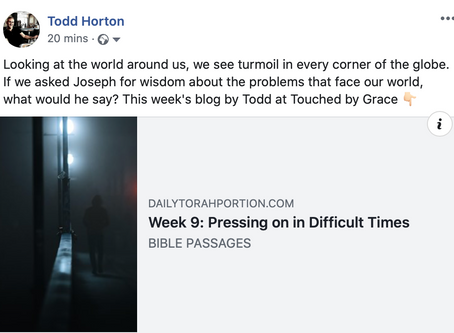 Pressing on in Difficult Times