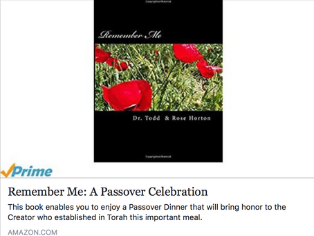 Touched by Grace Passover 2018 Challenge!
