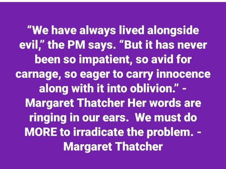 Lady Baroness Margaret Thatcher