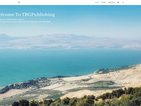 Touched by Grace publishing website has launched
