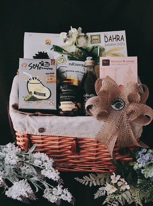 1021NY1910 - C19-1 NY  Gift Basket S Thai Products