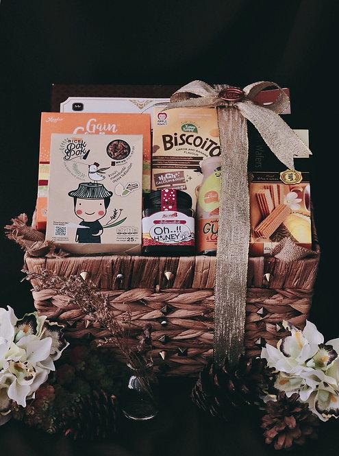 1021NY1912 - C19-1 NY Gift Basket M Rock 'n Roll