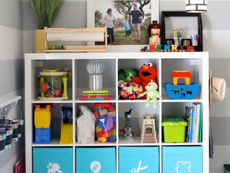 Kids Toy Storage Labels