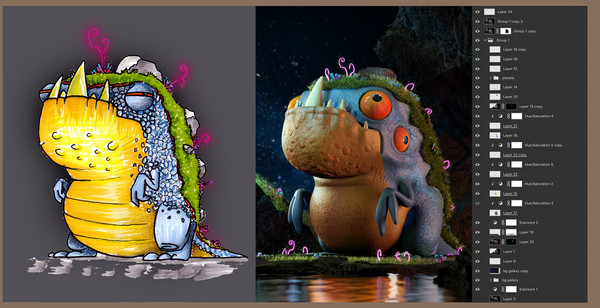 concept-and-compositing-unknown-creature