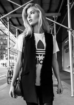 Makeup for Adidas Photo Shoot