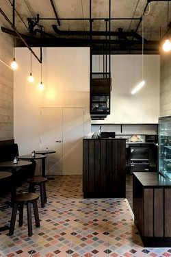 MOABELL Cafe Interior, AUCKLAND