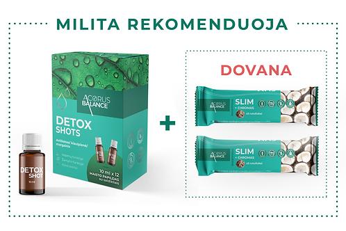 DETOX shots + dovana