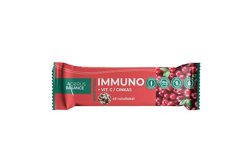 Užkandis - IMMUNO + Vitaminas C/ cinkas, 45 g.