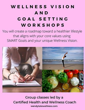 wellness vision and goal setting worksho
