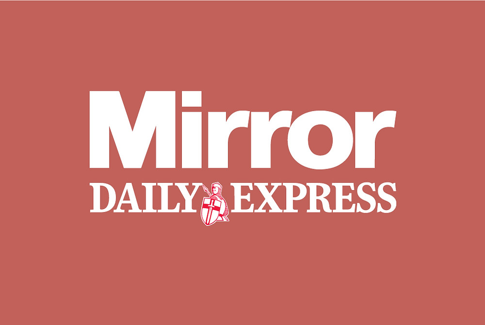 Mirror and Daily Express logo's