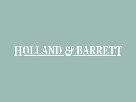 "Grace makes Holland & Barrett's ""Top 5"""