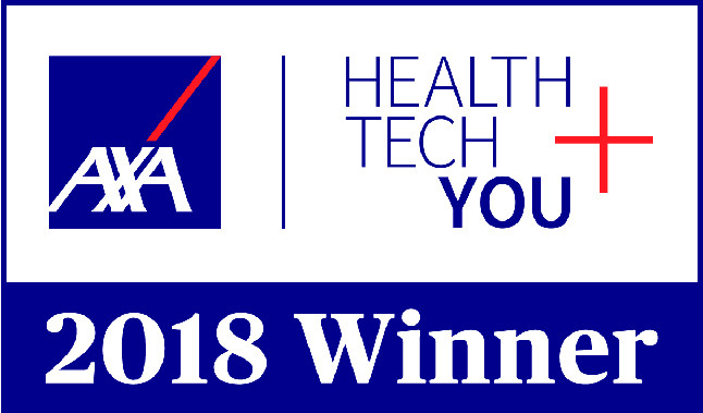 Logo of AXA Health Tech and You Award Winner 2018