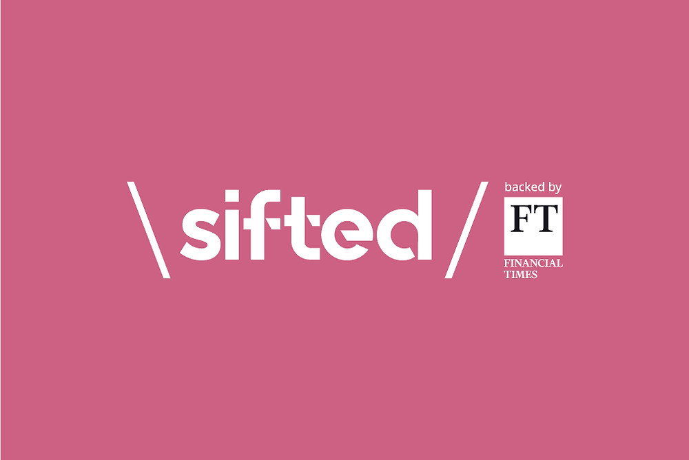 Sifted backed by the Financial Times logo