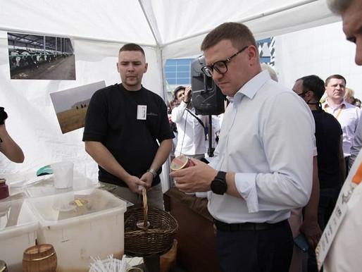Алексей Текслер принял участие церемонии открытия ежегодной агропромышленной выставки «АГРО – 2021»