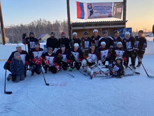 В Муслюмово прошел традиционный турнир по хоккею с шайбой памяти Рауля Шахова