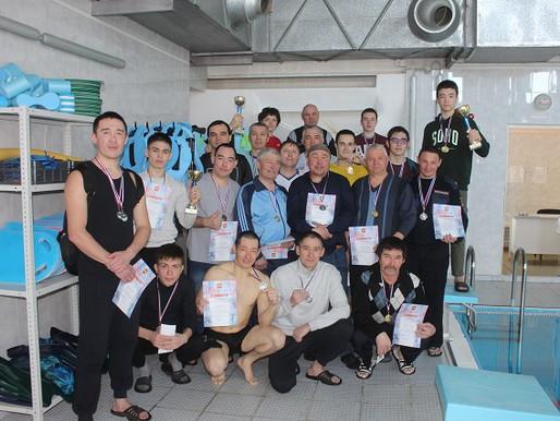 Прошли открытые соревнования по плаванию в честь Дня защитника Отечества